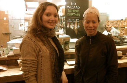Getting to meet Patricia, Chocovivo's owner, was an extra sweet treat!
