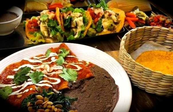 Mexican food turned vegan at Gracias Madre, Hollywood